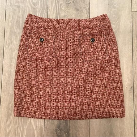 Ann Taylor LOFT button detail mini skirt - size 2